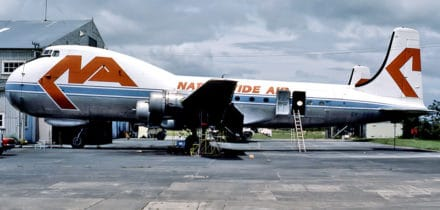 Avion cargo Carvair Aviation Traders
