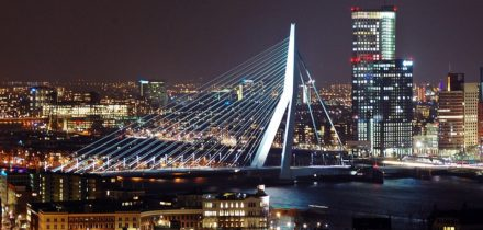 Private jet and helicopter rental in Rotterdam