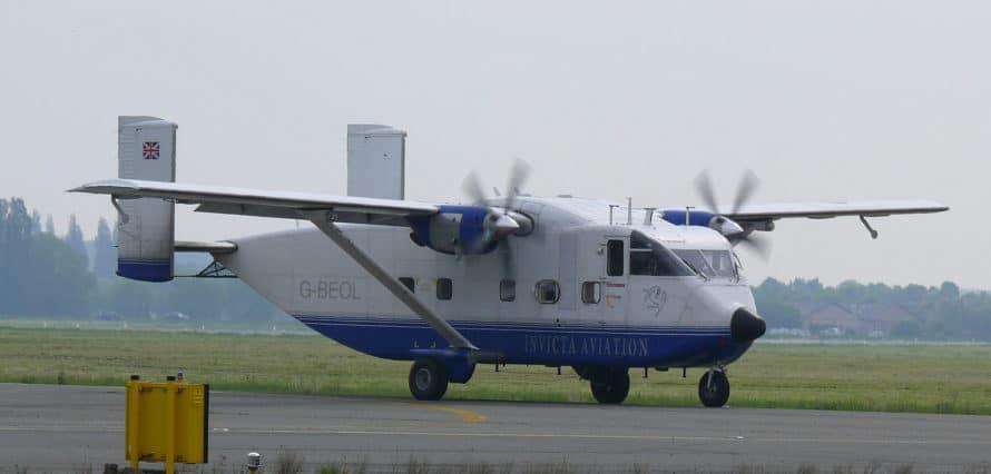 SC.7 Skyvan au décollage