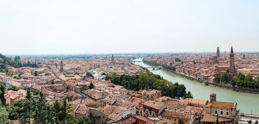 Private jet and helicopter hire in Verona