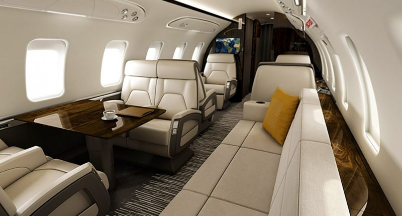 Private jet charter Challenger 650