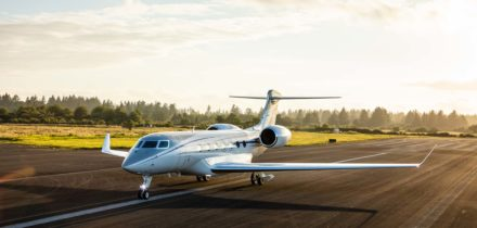 Private jet charter Gulfstream G600
