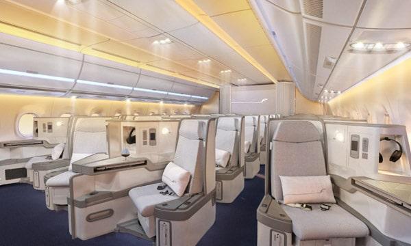 AIRBUS ACJ350 : Location de jet privé