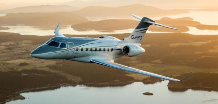 Private jet hire - G280