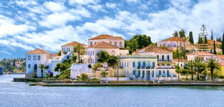Private jet and helicopter rental in Spetses