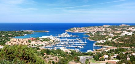 Private jet and helicopter rental in Porto Cervo