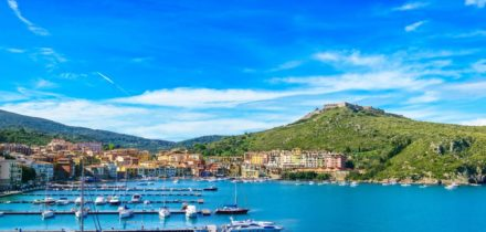 Private jet and helicopter rental in Porto Ercole