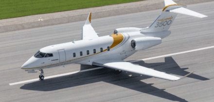 Private jet Challenger 3500 - Bombardier